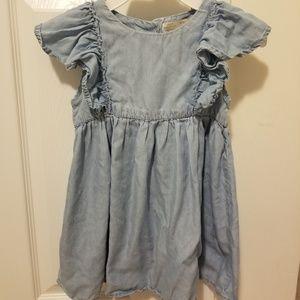 Size 3/4 Zara Baby Girl Jean dress